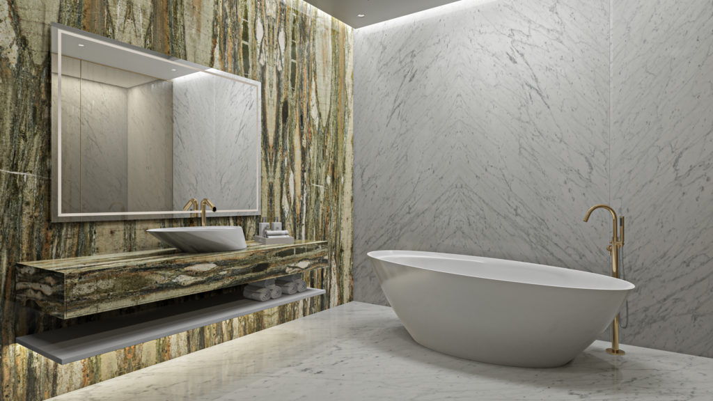 One-of-a-kind tips for selecting the pristine Italian white marble.