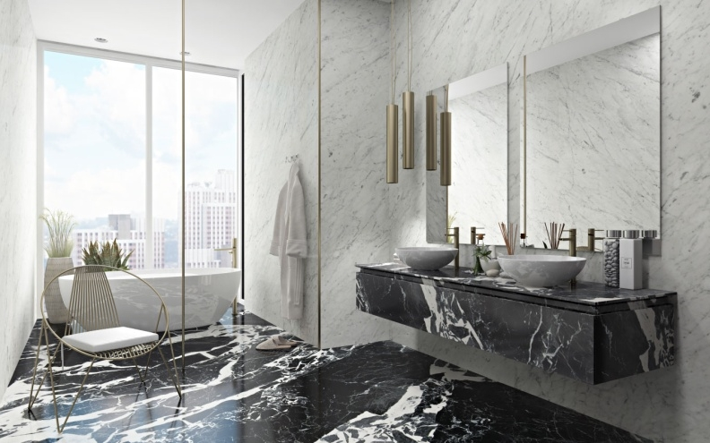 THE MOST FREQUENTLY ASKED QUESTION, NOW ANSWERED. WHERE TO USE MARBLE VS GRANITE?