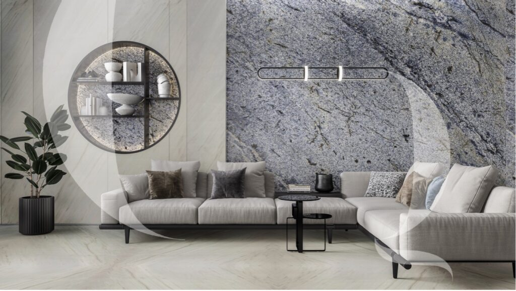 Water marked Azul Montagna-The Quarry Gallery -Italian Marble Company in India