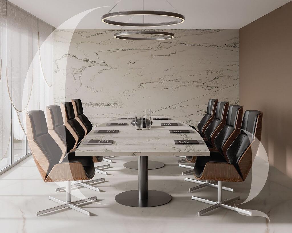 Office-interior-best-italian-marble-wall-cladding